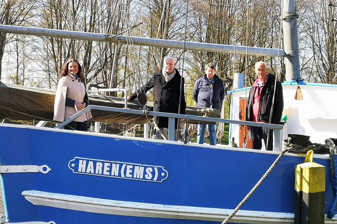 25.000 Euro für Schifffahrtsmuseum Haren