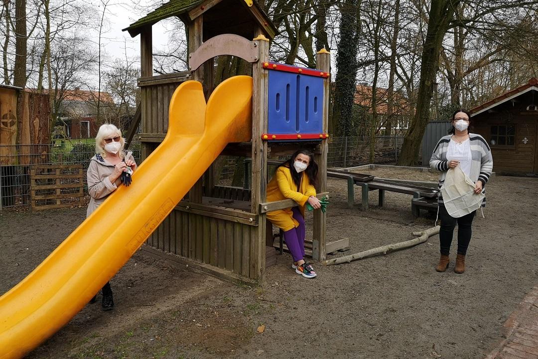 Gesunde Entdeckertour im Kindergarten Filsum