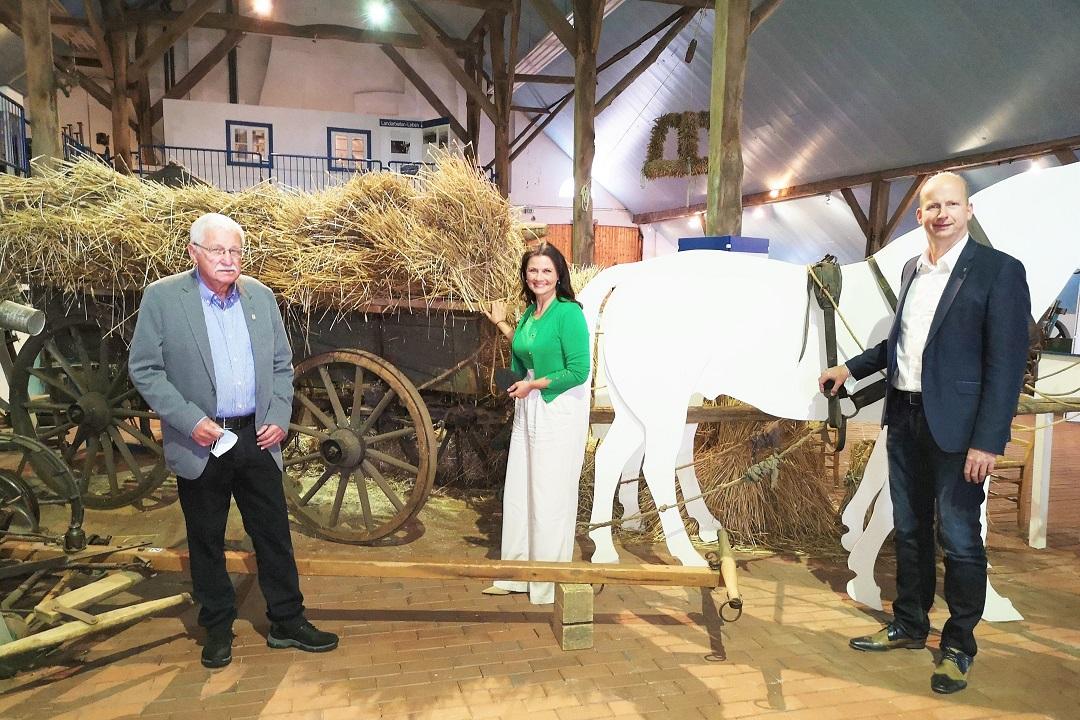 Finanzspritze für Landwirtschaftsmuseum Rhede